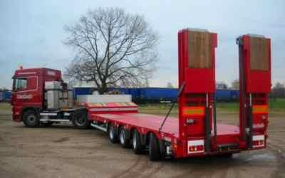 Перевозка негабаритных грузов низкорамными полуприцепами по РФ - Рязань, заказать или взять в аренду