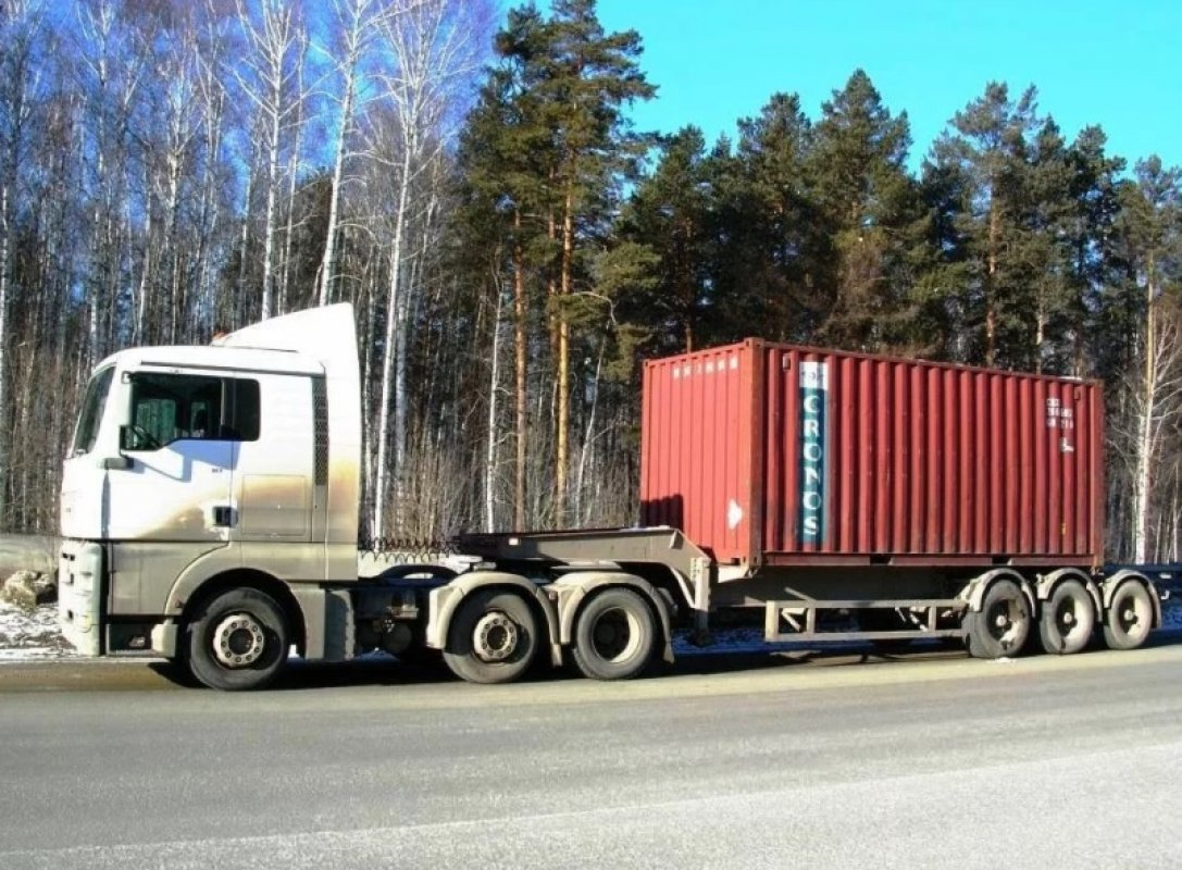 Полуприцеп, тягач MAN, Volvo - Рязань, заказать или взять в аренду